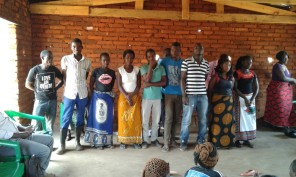Elected Kacheche youth executive committee members