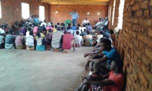 Laifolo Dakishoni explains the importance of good stewardship to the youth